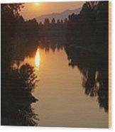 Rogue September Sunrise Wood Print