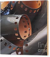 Roll Of Film Wood Print