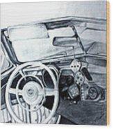 Roll The Dice Wood Print by Carolyn Ardolino