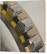Roller Bearings Wood Print