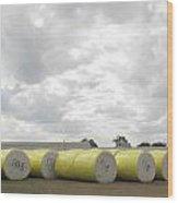 Rolls Of Cotton Wood Print