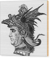 Roman Gladiator Wood Print
