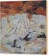 Roman Relicts Abstract 5 Wood Print