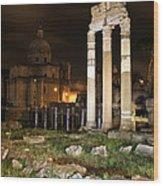 Roman Ruins 1 Wood Print