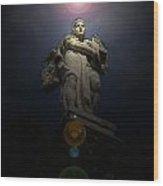 Roman Statue 2 Roman Italy Wood Print