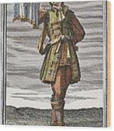 Roman Trumpet, 1723 Wood Print