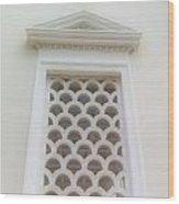Roman Window Villa Wood Print