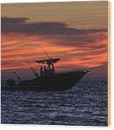 Romance On The Seas Wood Print