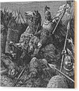 Rome: Belisarius, C537 Wood Print