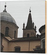 Rome Church Wood Print