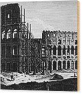 Rome: Colosseum, C1864 Wood Print
