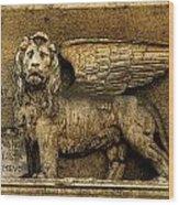 Rome Leo Wood Print