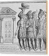 Rome: Praetorian Guards Wood Print