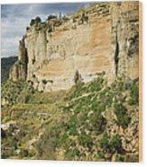 Ronda Rock In Andalusia Wood Print