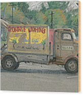 Ronnie John's Beach Cafe Wood Print