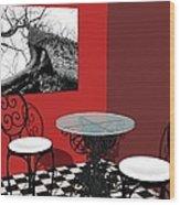 Room - Still Reaching Wood Print
