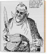 Roosevelt Cartoon, 1938 Wood Print