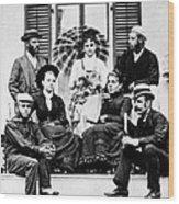 Roosevelt Family 1878 Wood Print