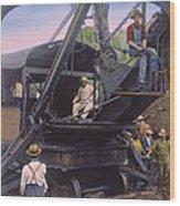 Roosevelt: Panama Canal Wood Print