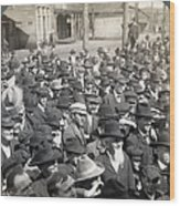 Roosevelt Speech, 1905 Wood Print