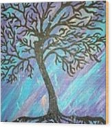 Roots To A New Beginning Wood Print