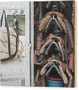 Roper's Locker Wood Print