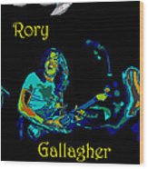 Rory And The Aliens Wood Print