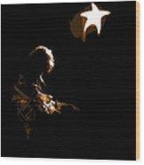 Rory Star At Night 2 Wood Print