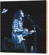 Rory With Special Blues Guests Wood Print