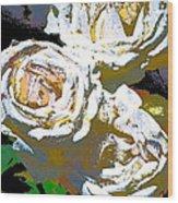 Rose 126 Wood Print