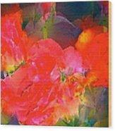 Rose 144 Wood Print