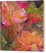 Rose 146 Wood Print