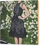 Rose Byrne Wearing A Chanel Dress Wood Print
