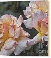 Rose Flower Series 7 Wood Print