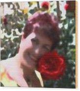Rose Love Wood Print