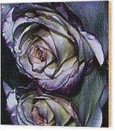 Rose Reflection 2 Wood Print