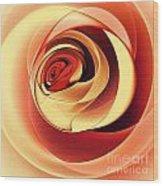 Rose Series - Pink Wood Print