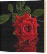 Rose2 Wood Print