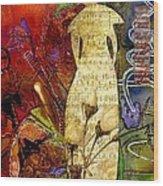 Rosebud The Angel Of Sweet Songs Wood Print