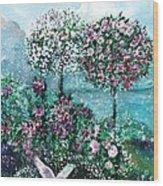 Roses For Maria Wood Print