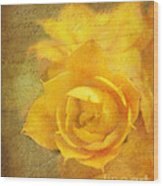 Roses For Remembrance Wood Print