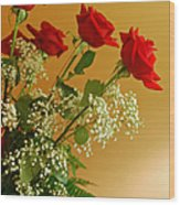 Roses For Suzanne Wood Print