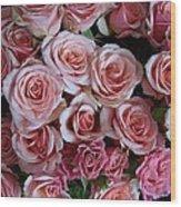 Roses Galore Wood Print