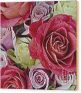 Roses Roses Wood Print