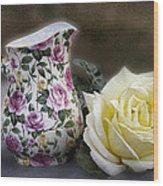 Roses Speak Of Romance Wood Print