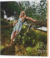 Rosey4 Wood Print