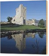 Ross Castle, Killarney, Co Kerry Wood Print