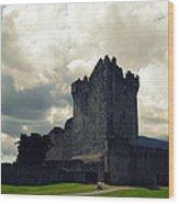 Ross Castle Killarney Ireland Wood Print