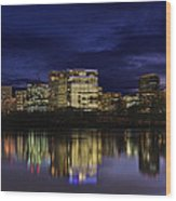 Rosslyn Skyline Wood Print