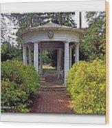 Rotunda Wood Print
